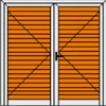 Δίφυλλο Ανοιγόμενο Πατζούρι